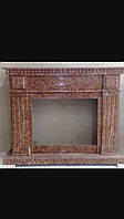Мраморный портал камин