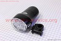 Велосипедный фонарь передний 9 диодов  JY-154A