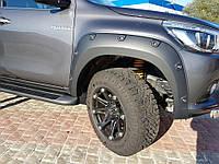 Toyota Hilux Revo 2014 расширители арок Offroad V2