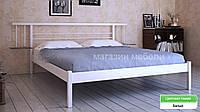 Кровать металлическая  Астра /Astra двухспальная 180 (Метакам) 1864х2080х840 мм