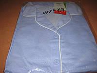 Пижама женская  100% хлопок размер L (48-50) с воротником на пуговицах