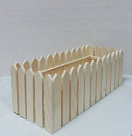 Ящик-забор, 16х41,5х15см