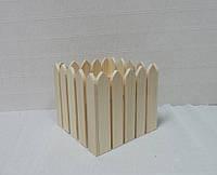 Ящик-забор, 16х16х15см