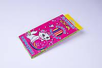 """Карандаши цветные пластиковые гибкие """"Кошка"""" №7208 (12 шт), фото 1"""