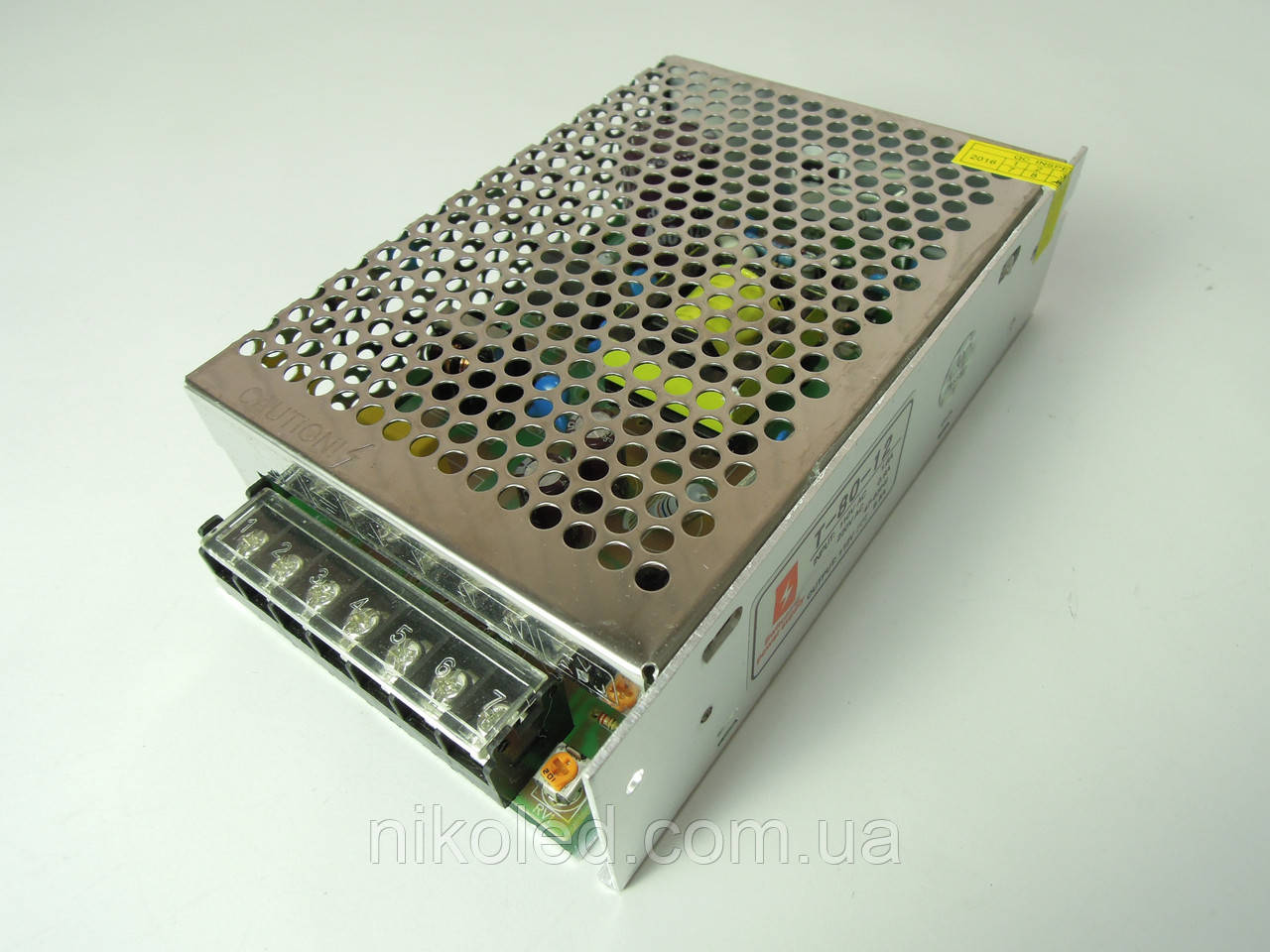 Блок питания негерм 220VAC 12VDC 6,5A T