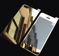 Защитное стекло для iPhone 7+/8+ на две стороны золотое