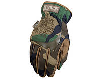 Тактические перчатки Mechanix Wear FastFit Woodland (MFF-77)