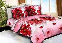 Комплект постельного белья полиэстер 3D ТМ KRIS-POL (Украина) полуторный 49851842