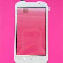 Сенсорний екран для мобільного телефону Prestigio MultiPhone 3400 Duo білий