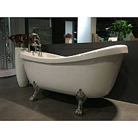 Ванна на серебряных львиных лапах Appollo ТS-1705