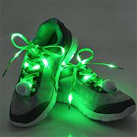 Светящиеся шнурки со светодиодами LED! Яркое свечение!