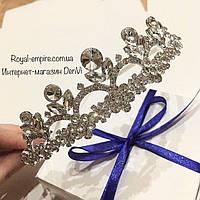 """Красивая диадема / тиара """"Лана"""" для невесты или на выпускной."""