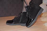 Ботинки демисезонные с шипами