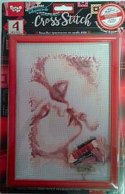 Вышивка крестиком Cross Stitch: Влюбленная пара VKB-01-12 Danko-Toys Украина