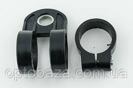 Крепление (хомут) под штангу 26 мм для ремня мотокосы 40-51 см. куб., фото 3