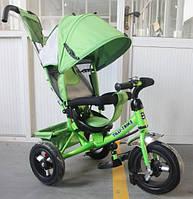 Детский трехколесный велосипед TILLY Trike (T-364 ЗЕЛЕНЫЙ)