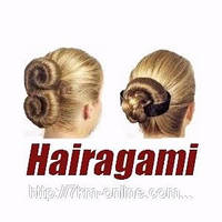 Заколка для волос Hairagami Bun Tail *3759