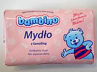 Детское мыло Bambino с ланолином 90г.