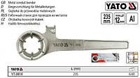 Трубогиб тормозных трубок макс. Ø=12 мм YT-0814