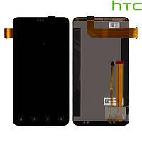 Дисплей + сенсорное стекло (touchscreen) для HTC EVO 3D X515m G17, черный, оригинал