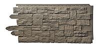 Сайдинг цокольный из ПВХ   рваный камень