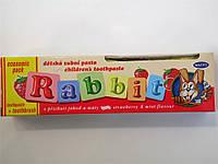 Зубная паста для детей+щеточка Rabbit 45г