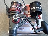 Катушка спиннинговая Bratfishing SHAR PEI 2000 RD 3+1 BB (задний фрикцион)