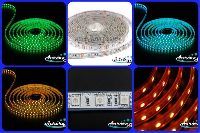 Светодиодная лента SMD 5050 (60 LED/m) RGB IP68 Premium