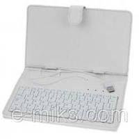 "Чехол клавиатура для ПК планшета 7""  White"