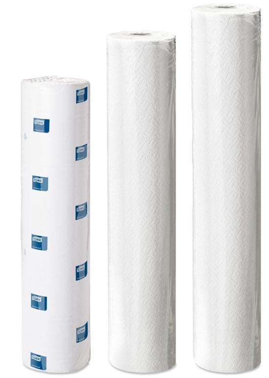 Медицинские бумажные простыни в рулонах Tork Universal