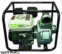 Мотопомпа бензиновая IRON ANGEL WPG 80 M (1000 л/мин)