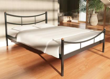 Металлическая кровать SAKURA (Сакура) Металлик, без изножья, 180х190, фото 2