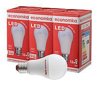 Светодиодные лампы Economka LED 12W СУПЕРПАК 3шт 2800К