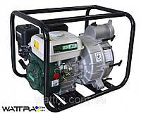 Мотопомпа бензиновая для грязной воды IRON ANGEL WPGD 90  (1250 л/мин) (нал/безнал)