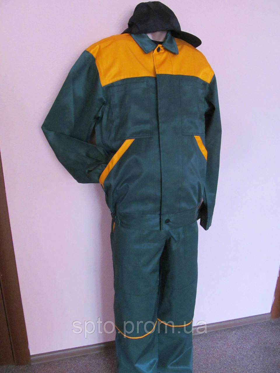 Костюм рабочий. Полукомбинезон + куртка, размер 48