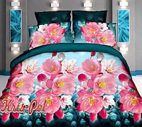 Комплект постельного белья полиэстер 3D ТМ KRIS-POL (Украина) полуторный 4985715002