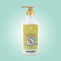 Шампунь без слёз и гель для душа для малышей (780 мл). Health & Beauty