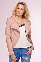 Молодежная розовая куртка TOP  ТМ Tatiana 44-48 размеры