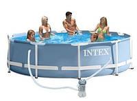 Каркасный бассейн intex 28702. сборный prism frame 305 x 76 см