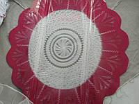 Салфетка для упаковки и декорирования букета цветов целлофановая, с рисунком, диаметром 50 см