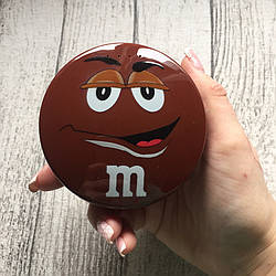 Внешний дополнительный коричневый аккумулятор M&M's на 8000 мАч