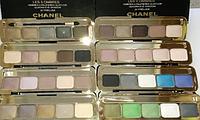 Тени Chanel 5 Ombres 20 Prelude палитра 8 тонов