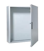 ABB Шкаф навесной (стальная дверь) 8рядов32рейки 384мод 1250х1050х260 IP54