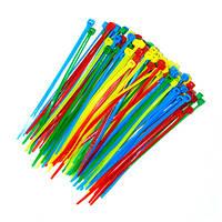 Стяжки для кабеля 120mm*2.5mm  цветные