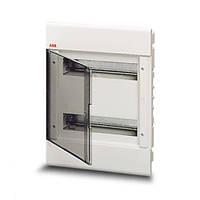 Бокс встраиваемый  1SL2063A00, 24 модуля, белый, с прозрачной дверью ABB (АББ)