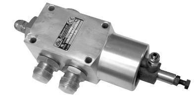 Самосвальный клапан BZAL 100 - 150