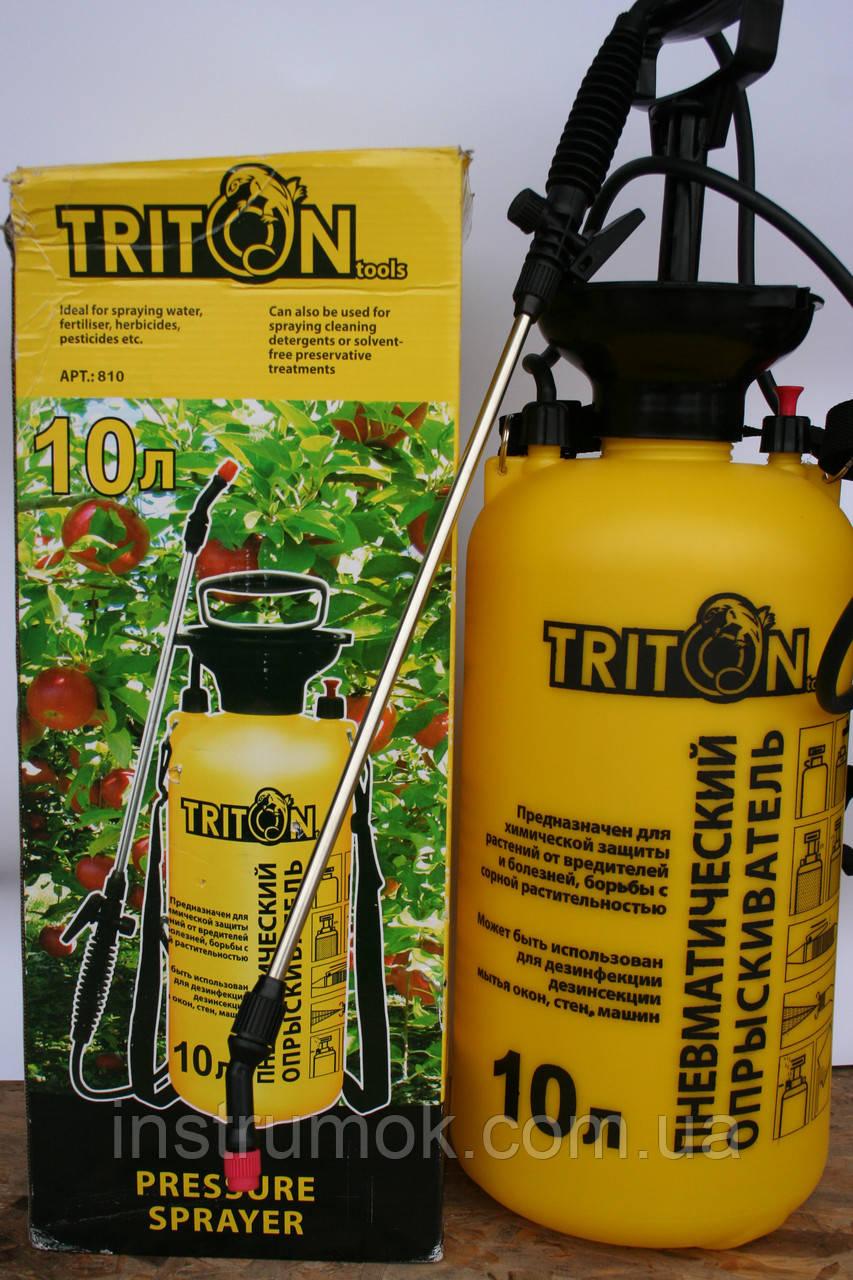 Опрыскиватель садовый 10 л ТМ Тriton