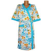 Халат запах кимоно (реактив)