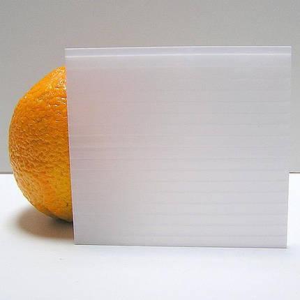Молочный(опал)сотовый поликарбонат10мм SOTON-STANDART 2.1*6м , фото 2