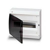 Бокс настенный  122620006, 12 модулей, белый, с прозрачной дверью ABB (АББ)